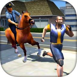 Prisoner Escape - Police Horse