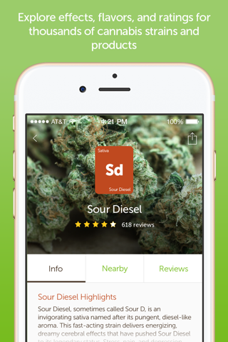 Leafly: Marijuana Reviews screenshot 3