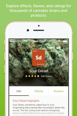 Leafly: Marijuana Reviews screenshot 3