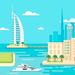 Дубаи 2017 — офлайн карта, гид, путеводитель!