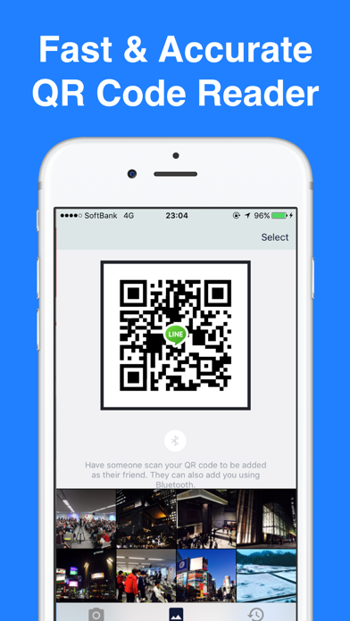 Fast QR Code Reader and Scanner for iPhone | App Price