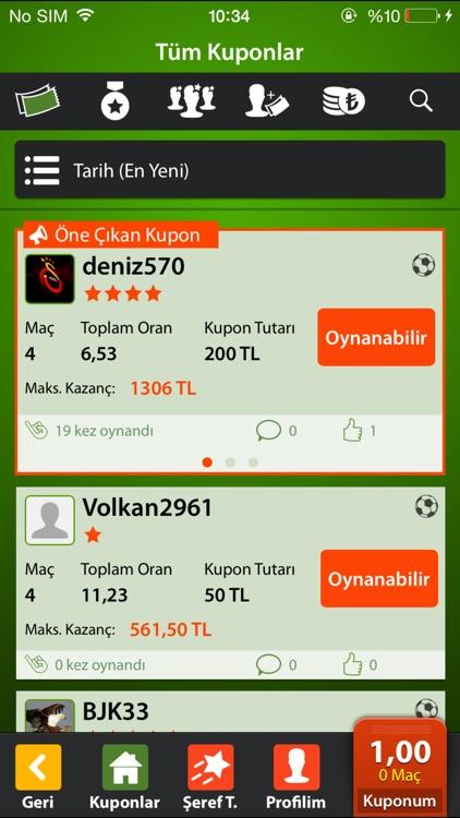 Bilyoner – İddaa Oyna screenshot-3