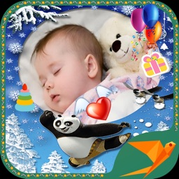 Insta Kid Photo Frame -  Babe photo collage - cute