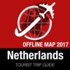 荷兰 旅游指南+离线地图