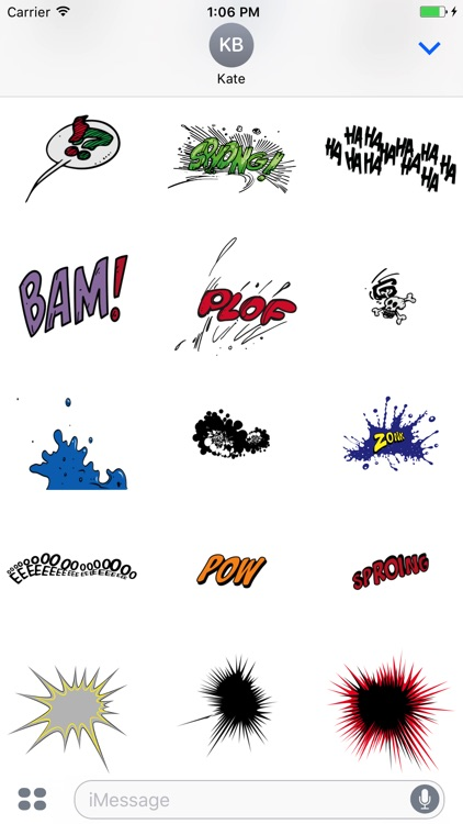 Comic Talk Stickers Pack 03 screenshot-3
