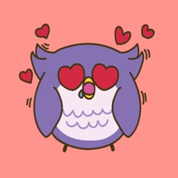 Cute Owl - Fc Sticker