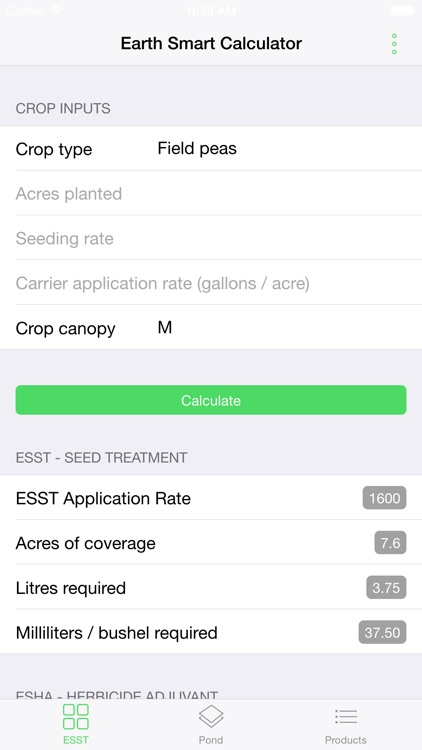 Earthsmart Calculator