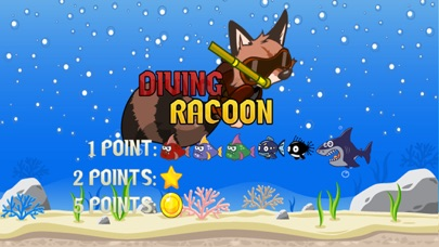 点击获取Diving Racoon