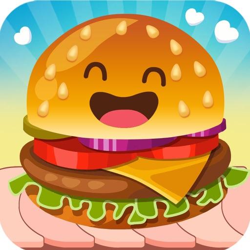 回転漢堡店 - 當大廚和老闆