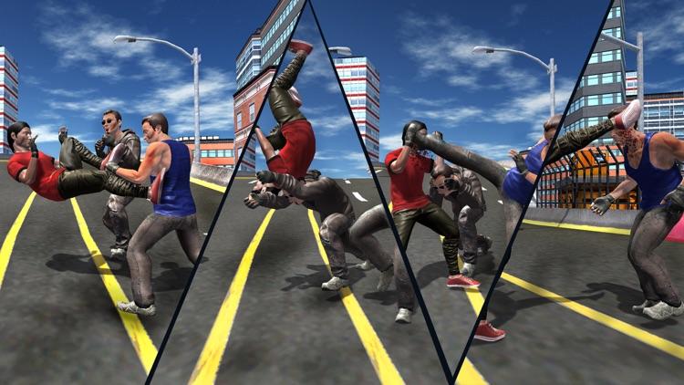 Fighting In Street : Crime Gang