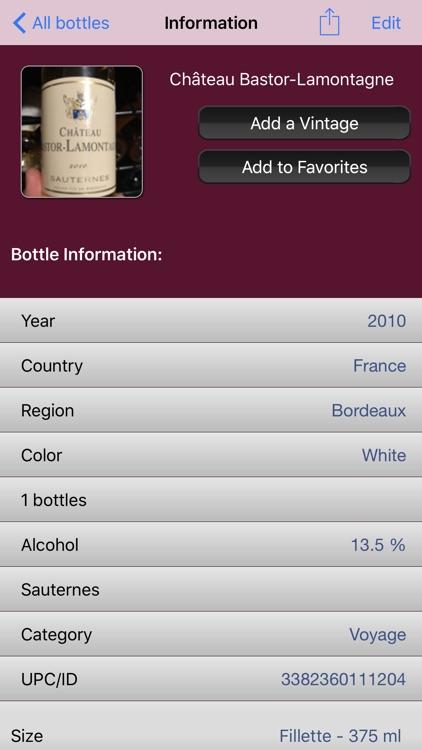 Wine Cellar screenshot-3