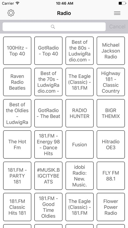 Radio FM Pop online Stations