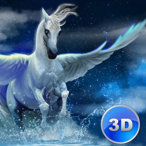 Flying Pegasus: Magic Horse Simulator 3D Full icon