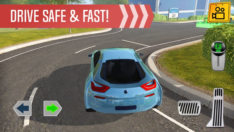 Roundabout 2: A Real City Driving Parking Sim screenshot-4