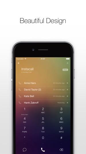 Instacall - Smart Dialer Screenshot