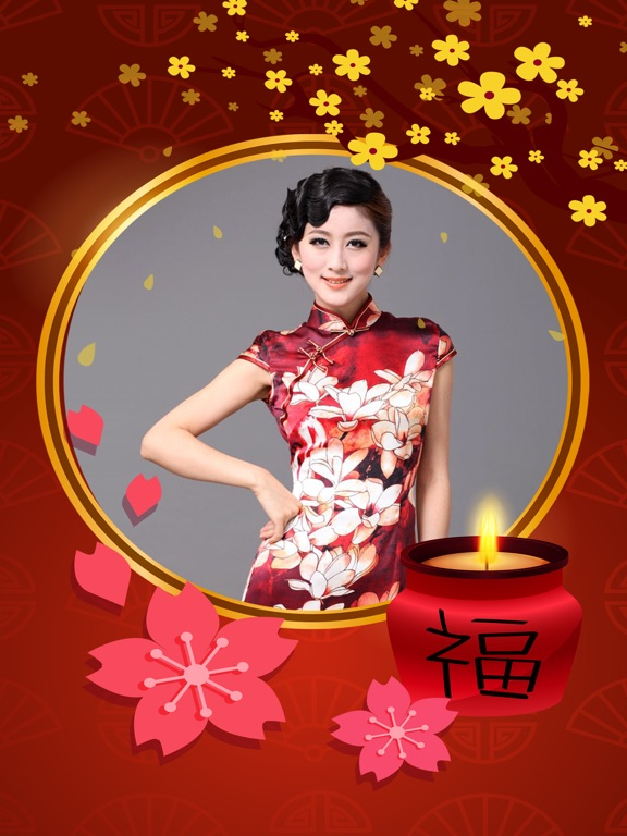 Chinese New Year Frames HD-ipad-0