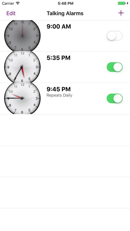 Talking Alarm