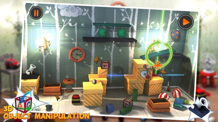 Clever Boy - Rube Goldberg Physic Puzzle 3D