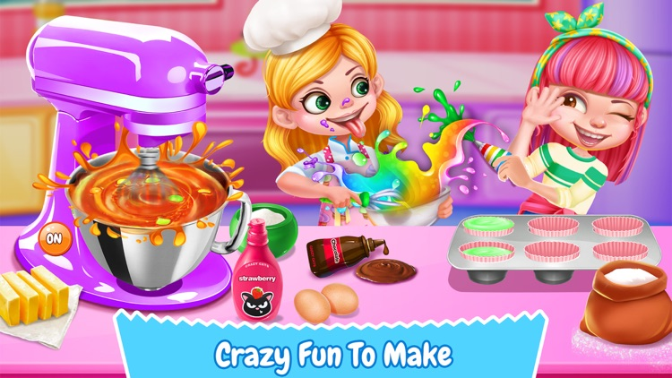 Cupcake Maker! Sweet Desserts screenshot-2