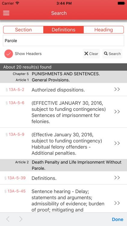 Alabama Criminal Code screenshot-3