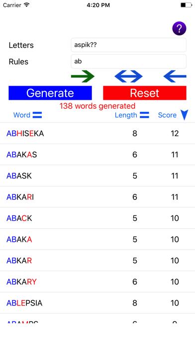 Word Generator Robot