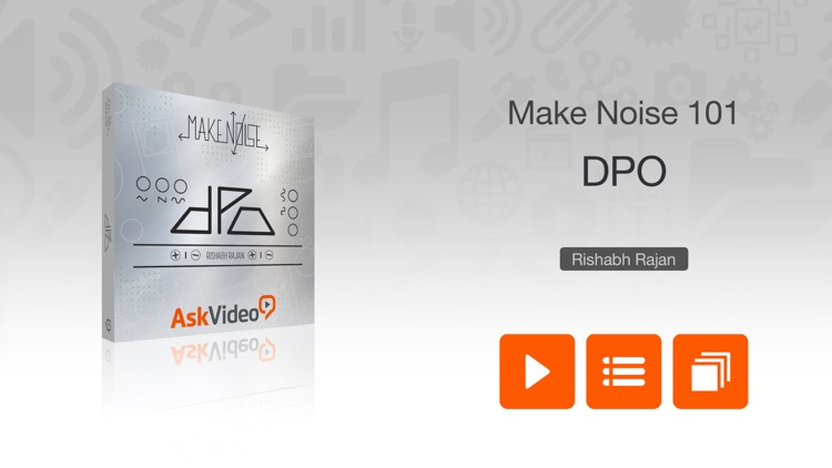 Course for Make Noise DPO Eurorack Module