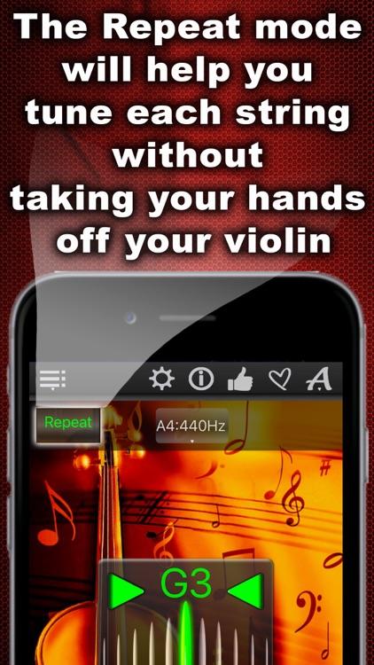 Easy Violin Tuner screenshot-3