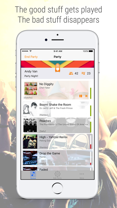 Jukestar - Jukebox for Spotify by James Litjens (iOS, United States