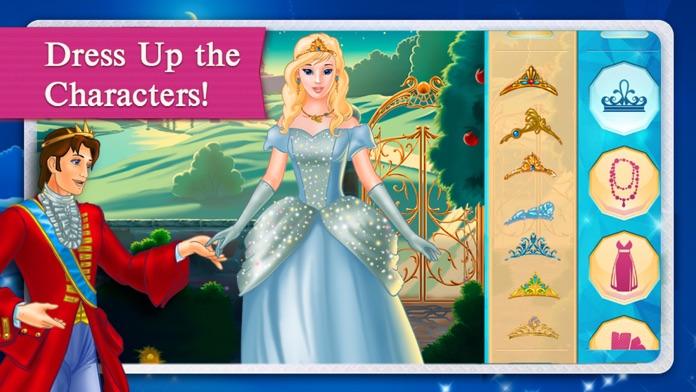 Cinderella Fairy Tale Dress Up and Storybook HD Screenshot