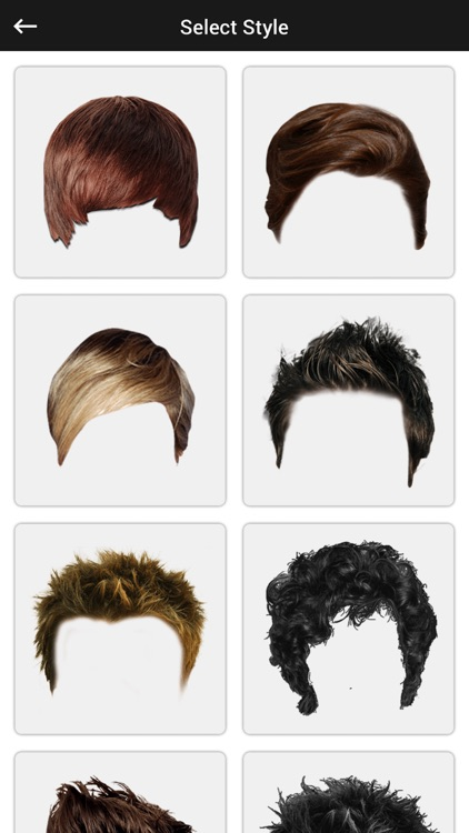 Man Hairstyle Photo Editor - Man Hairstyle Booth screenshot-3