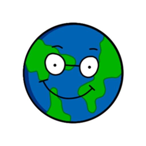 Earth Emoji Sticker
