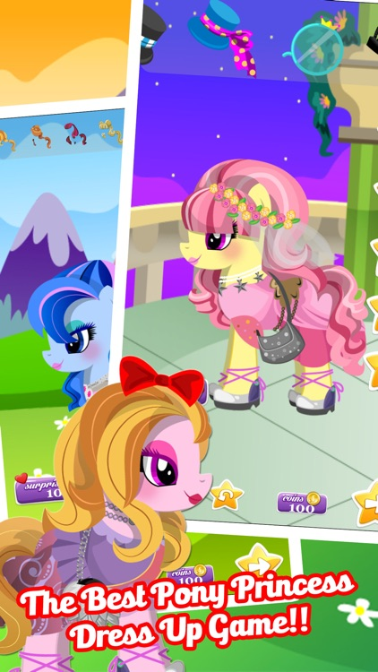 Fun Pony Baby Pet Dress Up Games For Girls & Kids