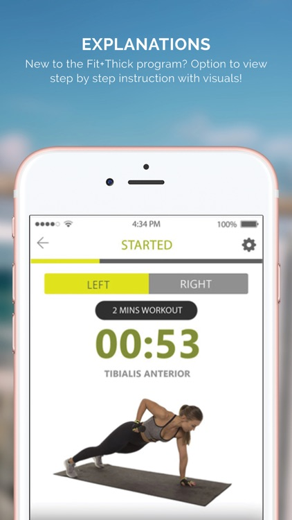 Fit and Thick app image
