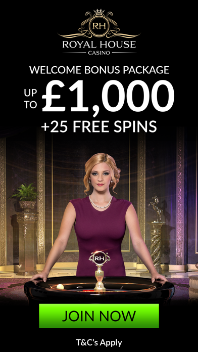 Royal House Casino: VIP Slots - Live Dealer Games