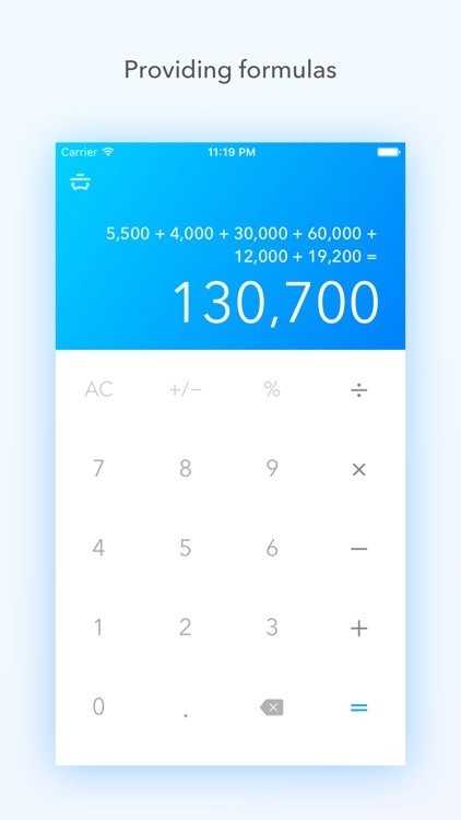 Basic Calc Pro - Calculator faithful to the basics screenshot-2