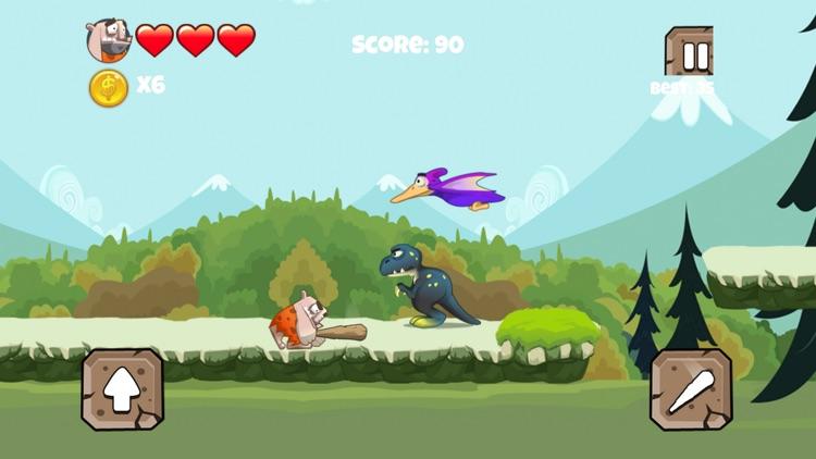 Stone Aged Runner - Stone Age Game screenshot-4