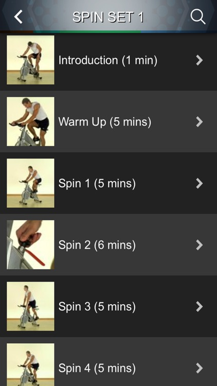 Spin Cycling Class Videos