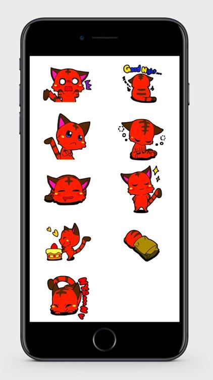 Devil Cat Stickers screenshot-3