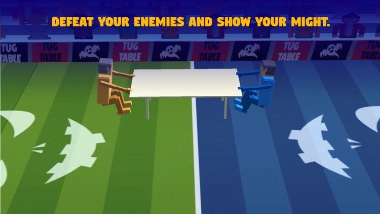 Tug The Table 3D-Wrestle Jump Fighter Physics War screenshot-4