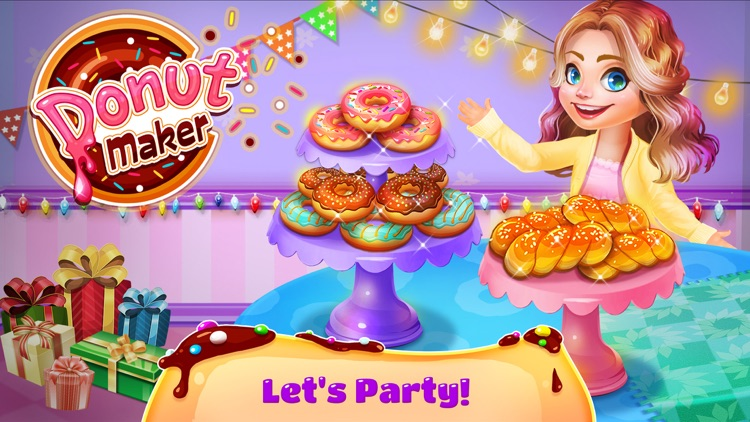 Donuts Maker - Cooking Games! screenshot-3