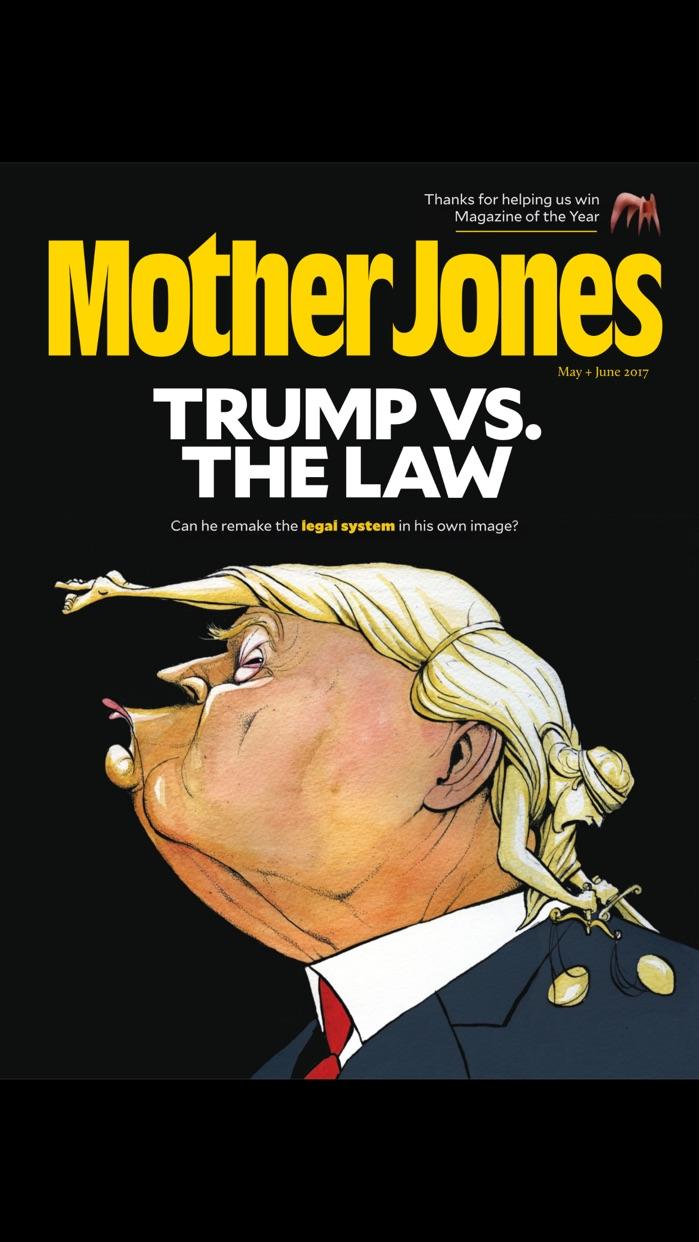 Mother Jones Screenshot