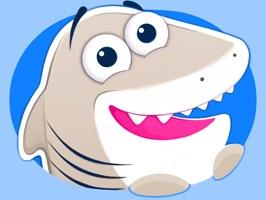 Nice Shark! Good Kitty Cat and Penguin Too! Emoji