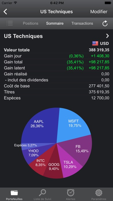 download Portfolio Trader - Actions apps 1