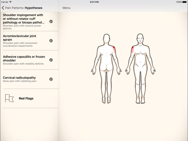 Clinical Pattern Recognition: Shoulder Pain on the App Store
