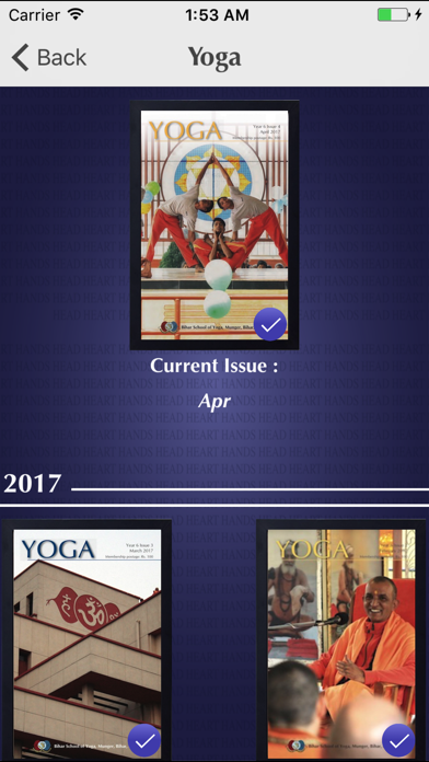 YOGA Magazine screenshot two