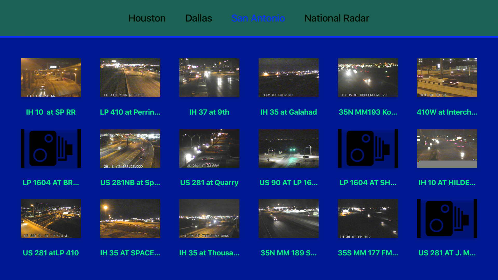 Texas NOAA Radar with Traffic Cameras 3D screenshot 13