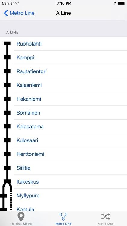 Helsinki Metro & Subway screenshot-3
