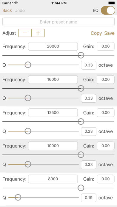 Studio Music Player | 48 bands equalizer for pro's