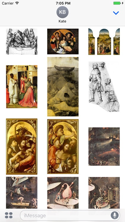Hieronymus Bosch Artworks Stickers screenshot-3