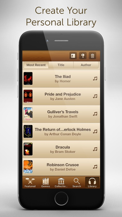 Free Audiobooks - 4,728 classic audiobooks for less than a cup of coffee. Screenshot 3